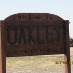 Oakley, Kansas Sign