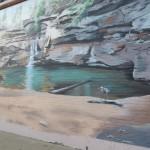 Old Man's Cave Mural in Logan, Ohio