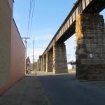 Railroad Bridge in Parkersburg, West Virginia