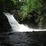 Pierce Pond Stream Waterfall in Maine