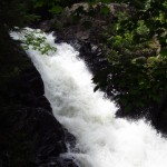 Pierce Pond Stream Waterfall Outside Caratunk, Maine