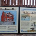 Pommer-Genter House Sign in Hermann, Missouri