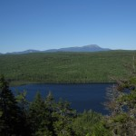 Rainbow Lake in the 100-Mile Wilderness in Maine