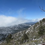 Snow on Mount San Gorgonio