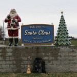 Santa Claus Sign in Santa Claus, Indiana