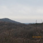 Rim Rock National Recreation Trail Overlook in the Shawnee National Forest