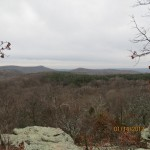 Rim Rock Recreation Trail Overlook in the Shawnee National Forest