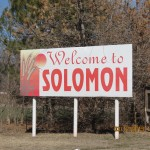Solomon, Kansas Sign