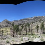 South Sierra Wilderness Panorama