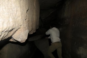 Stank Spelunking at Coopers Rock Outside Morgantown, West Virginia