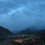 Storm Over Glenwood Springs, Colorado