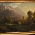 Sweet Mountain Painting in Grunwald Art Gallery in Indiana University