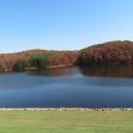 Tom Jenkins Dam in Burr Oak State Park