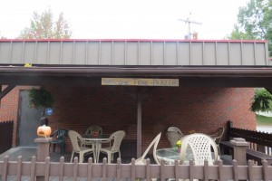 Trail-Blazers Welcome at the Happy Trails Cafe on the North Bend Rail Trail