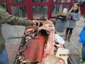 Pig Roast in Washington, Missouri