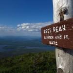 West Peak on Mount Bigelow in Maine