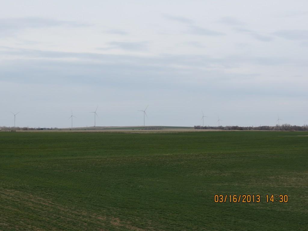 Wind Farm Outside Ellsworth, Kansas