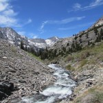 Woods Creek in Kings Canyon National Park