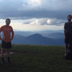 Oil Can and French Press on Max Patch on the Tennessee/North Carolina Border