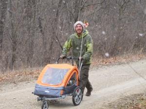Pushing the Pushcart on the Katy Trail
