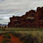 Cyclone Canyon Panorama