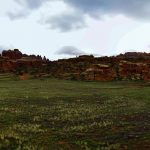 Red Lakes Canyon Panorama