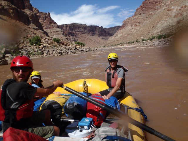 Rowing Cataract Canyon on the Colorado River