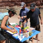 Navtec Lunch in Cataract Canyon on the Colorado River