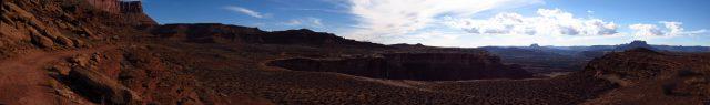 Soda Springs Basin Panorama